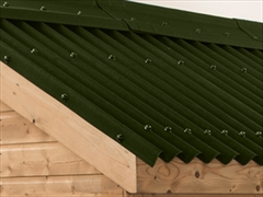 Green Onduline Bitumen Roof Sheets