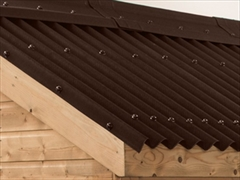Brown Onduline Bitumen Roof Sheets