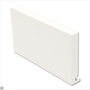 Square Fascia White (22mm)