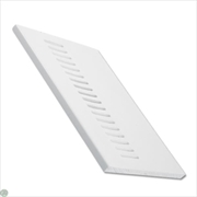 Vented Soffit Board White (9mm)