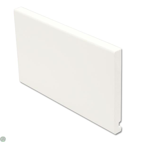 Flat Fascia White (16mm)