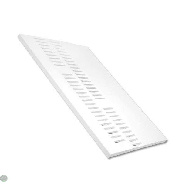 Double Vented Soffit Board White (9mm)