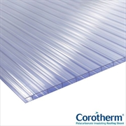 Clear 4mm Twinwall Polycarbonate Sheets