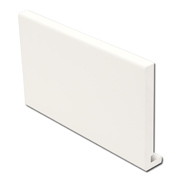 16mm Fascia Board White (Square)