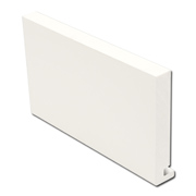 22mm Fascia Board White (Square)