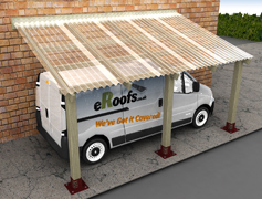"3"" Profile CarPorts"