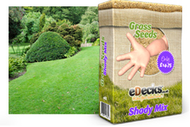 eDecks Shady Area Lawn Seed