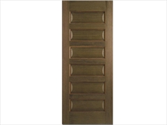 Contemporary Walnut Doors