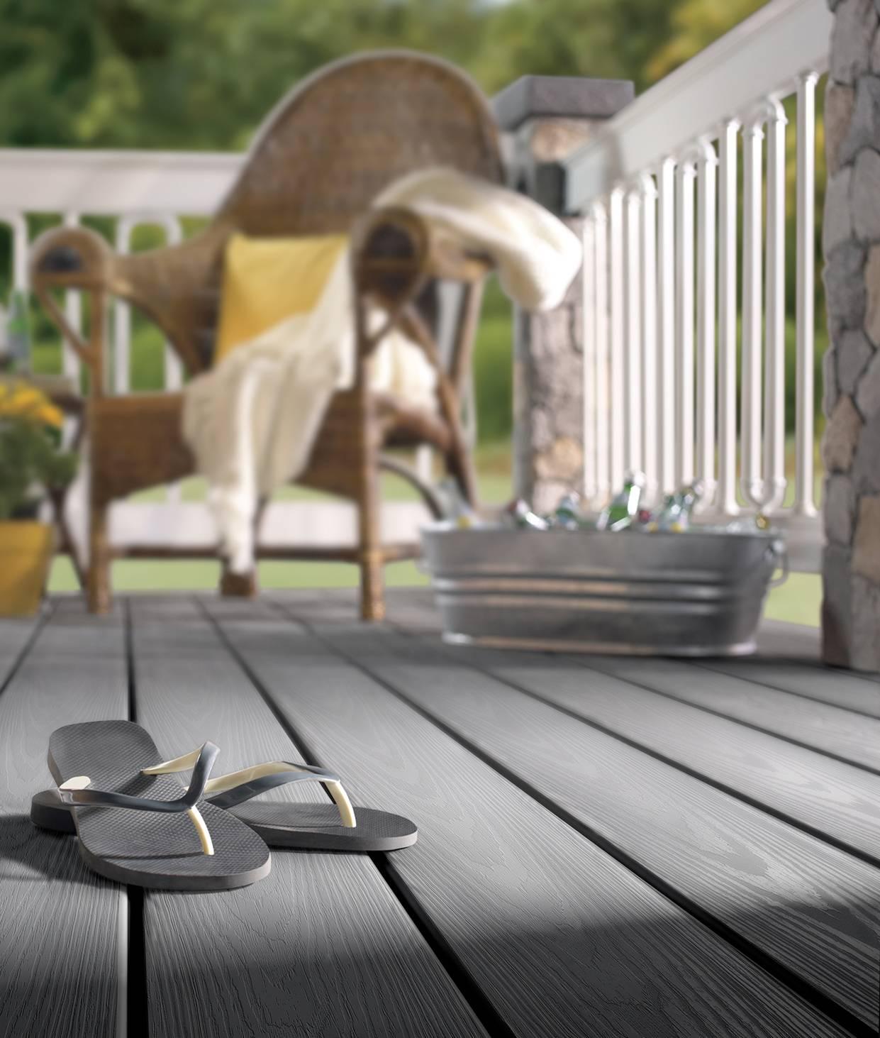 Composite decking low composite decking prices edecks for Evergrain decking cost