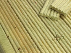 Softwood Decking Board Samples